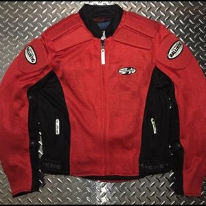 Men's Joe Rocket Mesh Summer Motorcycle Jacket